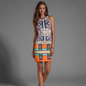 NWOT Clover Canyon Revolve Neoprene Dress Colorful